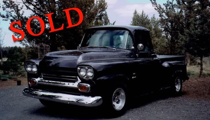 1958 Chevrolet 3100 Apache SWB