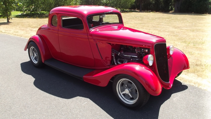 1934 Ford 5 Window Coupe Chopped HENRY STEEL