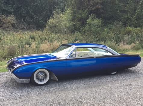 1962 Ford Thunderbird T-Bird Rod and Custom Top Ten in the Country in 2005