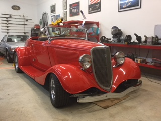 1934 Ford Roadster All Henry's Steel (34C4)