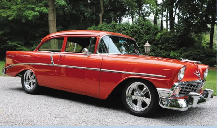 1956 Chevrolet 210 Post Restomod