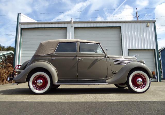 1935 Ford Fordor 4 Door Sedan Convertible