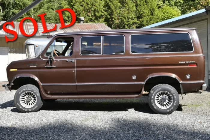 1976 Ford Chateau Club Wagon 3/4 Ton Van <font color=red>*SOLD*</font color>