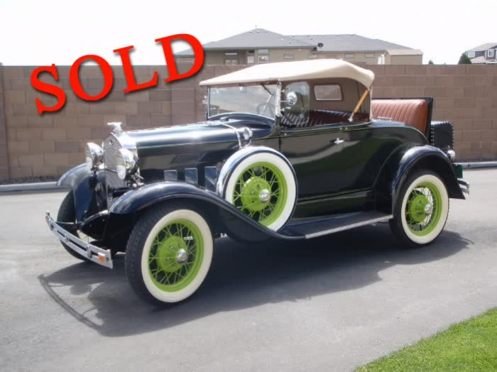 1931 Ford Deluxe Rumble Seat Roadster