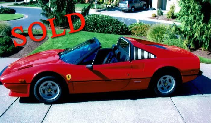 1979 Ferrari 308 GTS (Magnum PI Model)
