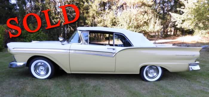 1957 Ford Fairlane 500 Sunliner Convertible
