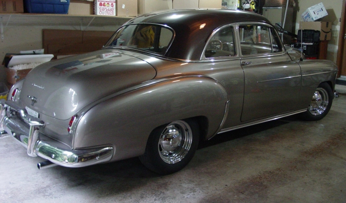 1949 Chevrolet Deluxe Coupe