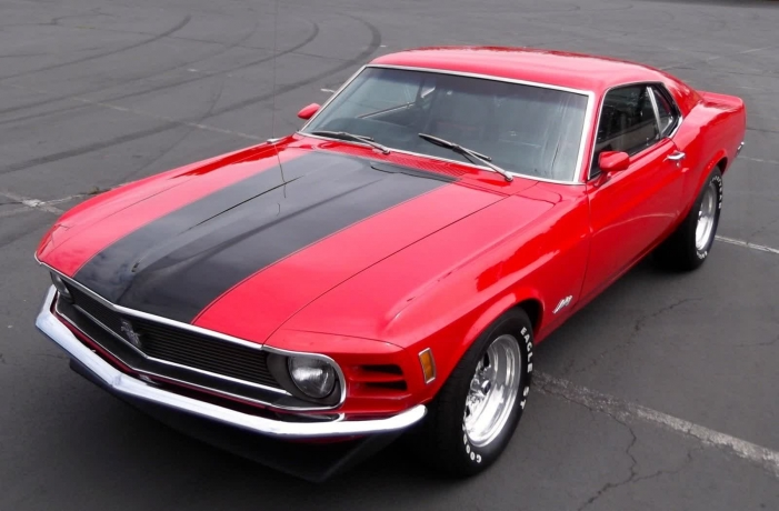 1970 Ford Mustang Fastback Rare 1 of 1 Factory Ordered Muscle Car