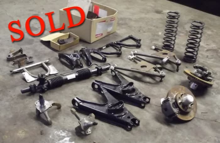 Used Parts: Studebaker Golden Hawk Disc Brake/Front Suspension UG <font color=red>SOLD</font  color>