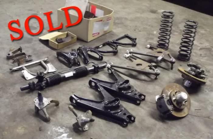 Used Parts: Studebaker Golden Hawk Disc Brake/Front Suspension Upgrade