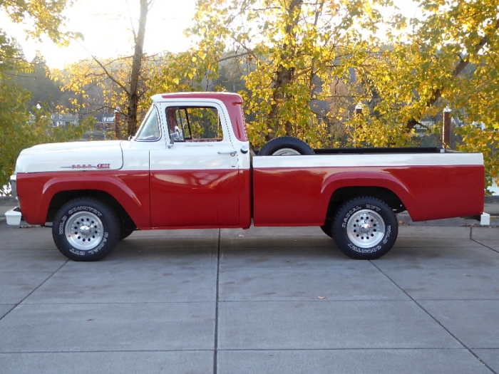 1960 Ford F100 Pick Up Custom Cab