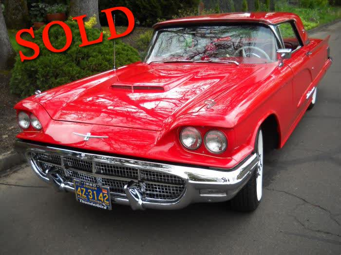 "1960 Ford Thunderbird ""Square Bird"" (2 Door Hard Top)"