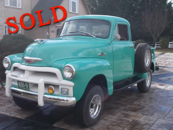 1955 Chevrolet 3100 First Series 5 Window 4X4 <font color=red>*SOLD*</font color>