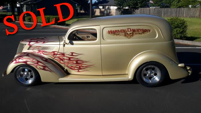 1937 Ford Sedan Delivery <font color=red>SOLD*</font color>