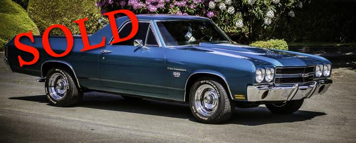 1970 Chevrolet El Camino SS <font color=red>*SOLD*</font color>