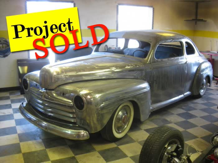 1946 Ford Coupe Project