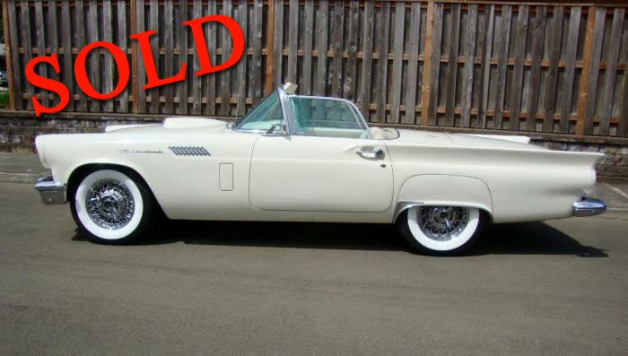 1957 Ford Thunderbird <font color=red>*SOLD*</font color>