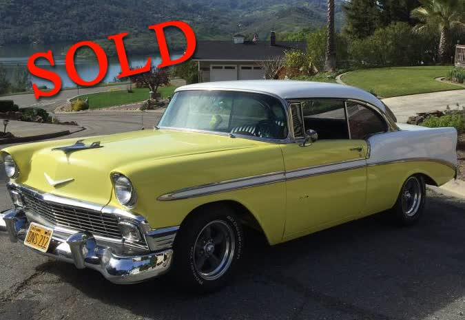 1956 Chevrolet Bel Air Hardtop <font color=red>*SOLD*</font color>