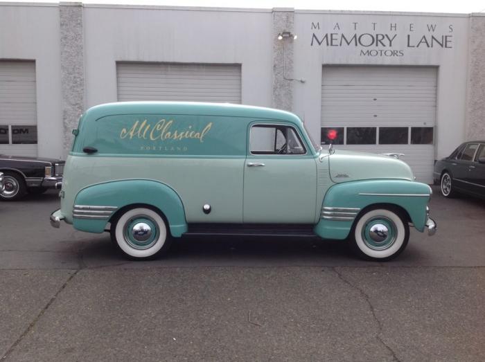 1954 Chevrolet 1/2 Ton Panel