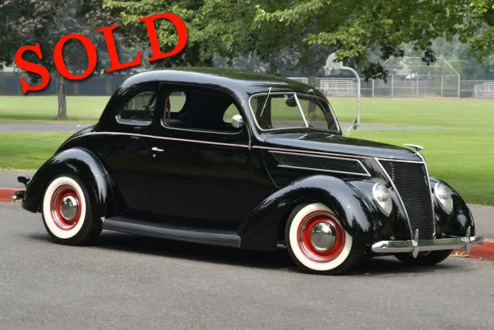 1937 Ford Club Coupe All Henry Ford Steel <font color=red>*SOLD*</font color>
