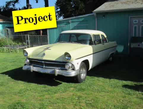 1955 Ford 2 Door Post