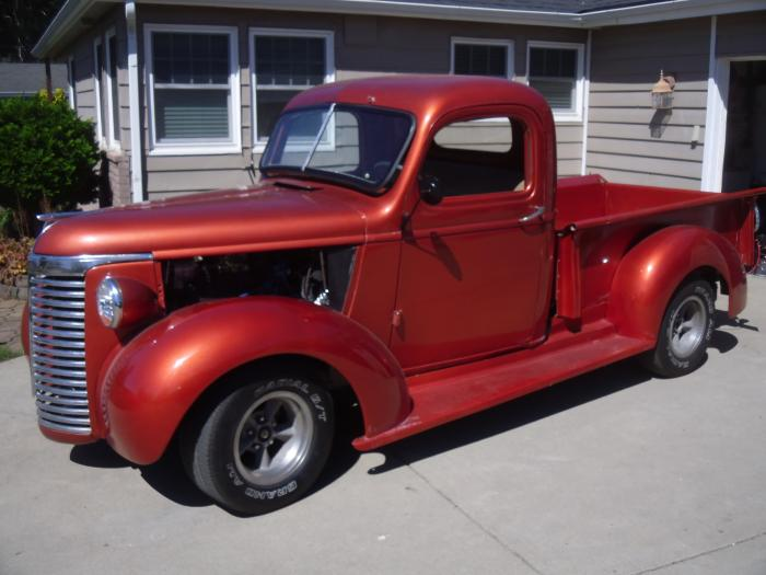1940 Chevrolet 1/2 Ton Pickup All Steel,  W/54 Chrysler Firepower Hemi, OD Trans