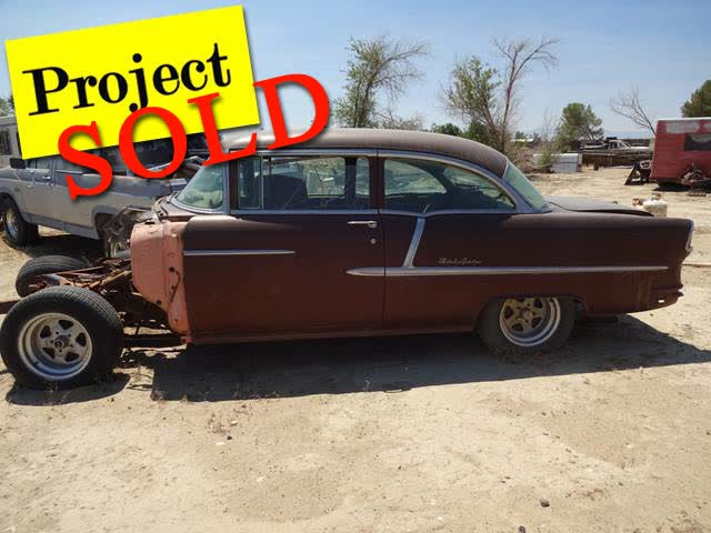 1955 Chevrolet  - TWO Project Vehicles <font color=red>*SOLD*</font color>