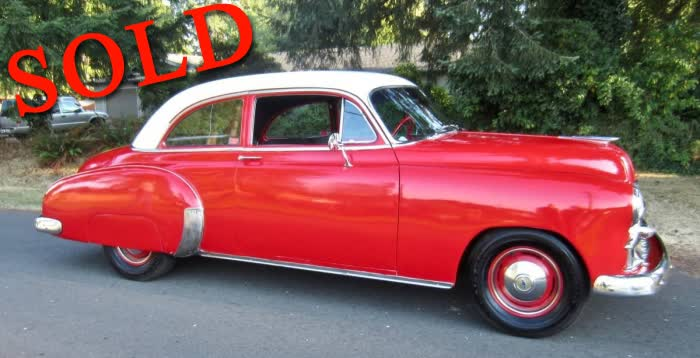 1950 Chevrolet Stylemaster 2 Door Coupe <font color=red>*SOLD*</font color>