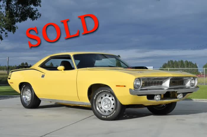 1970 Plymouth Cuda Tribute Car <font color=red>*SOLD*</font color>