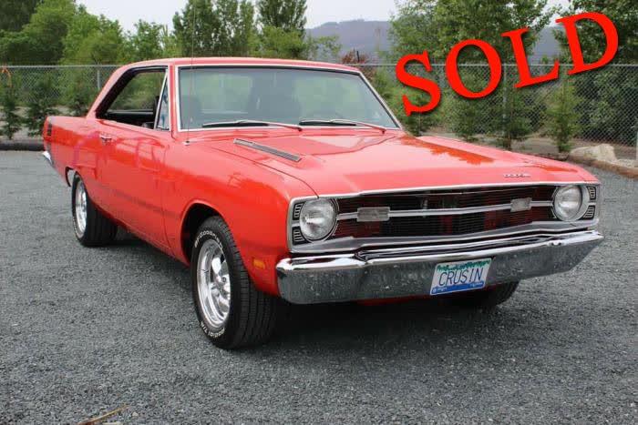 1969 Dodge Dart Swinger <font color=red>*SOLD*</font color>