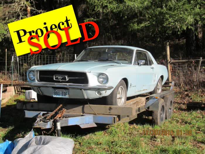 1967 Ford Mustang Coupe Project