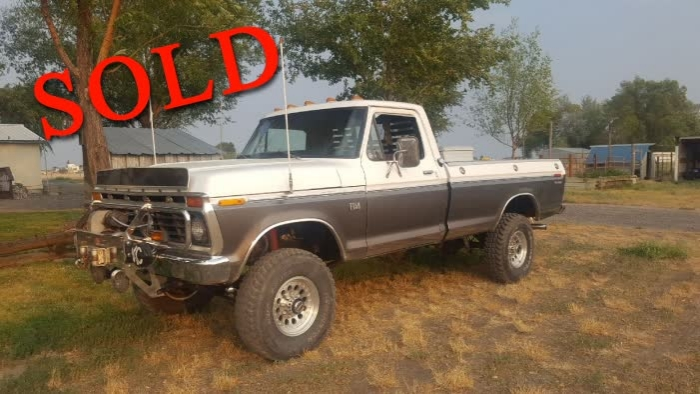 1974 Ford F-250 4X4 High Boy <font color=red>*SOLD*</font color>