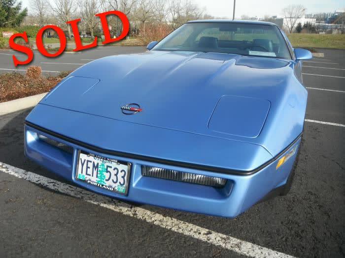 1984 Chevrolet Corvette <font color=red>*SOLD*</font color>