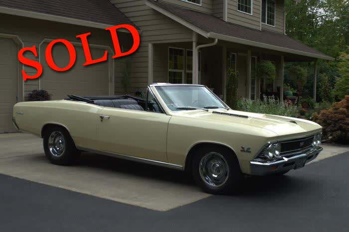 1966 Chevrolet Chevelle SS Convertible Resto Mod <font color=red>*SOLD*</font color>