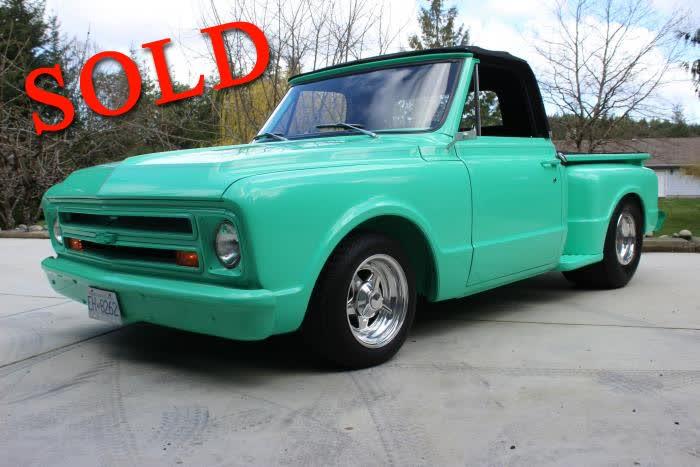 1967 Chevrolet C-10 Shortbox Stepside <font color=red>*SOLD*</font color>