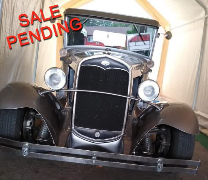 1931 Ford Model A 5 Window Coupe <font color=red>*SALE PENDING*</font color>