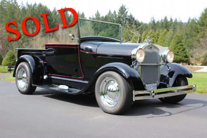 1929 Ford Model A Roadster Pickup <font color=red>*SOLD*</font color>