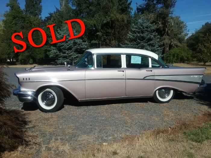 1957 Chevrolet Bel Air <font color=red>*SOLD*</font color>
