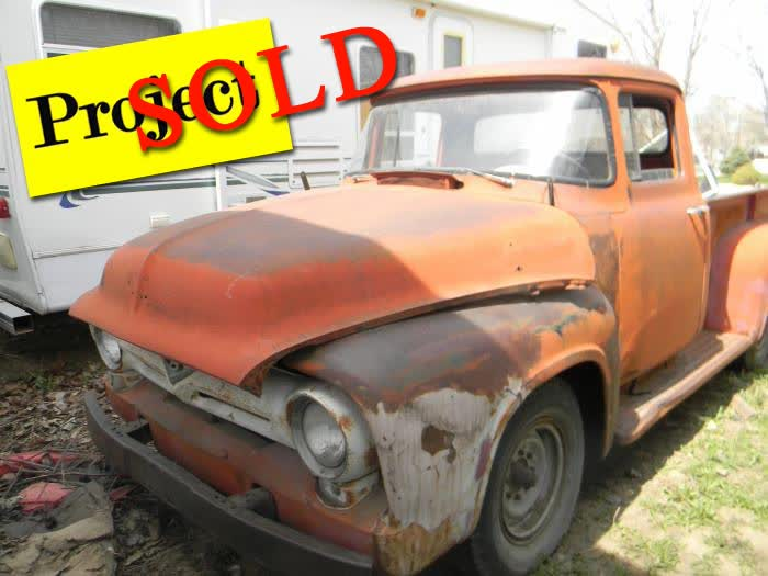 1956 Ford F250 Project <font color=red>*SOLD*</font color>