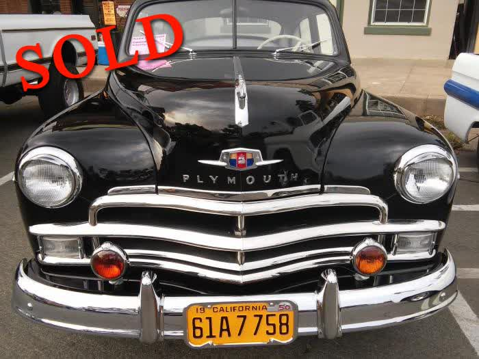 1950 Plymouth P19 Fastback