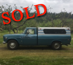 1975 International 200-Eight Pickup Truck