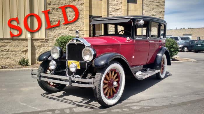 1928 Buick Model 27 <font color=red>*SOLD*</font color>