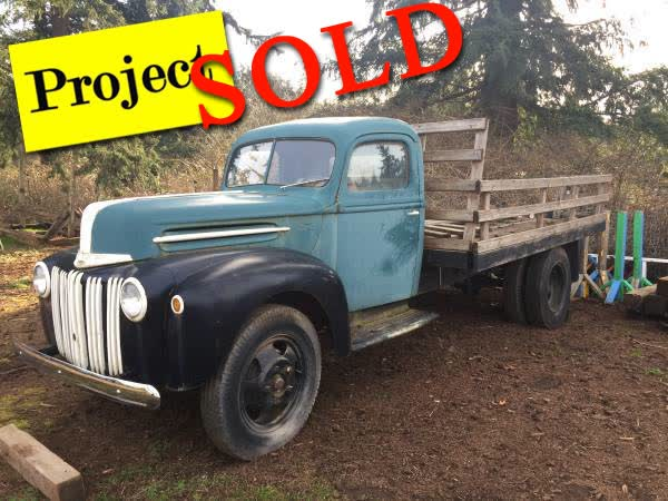 1946 Ford 1/2 Ton Flatbed Truck