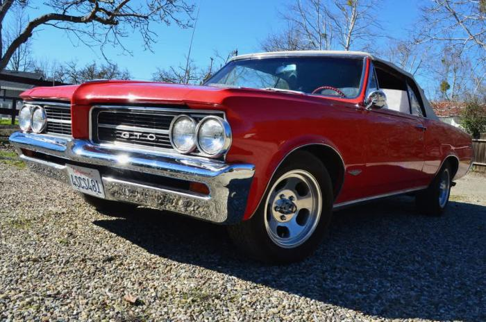 1964 Pontiac LeMans Dealer Optioned GTO Convertible 21K Original Miles, CA