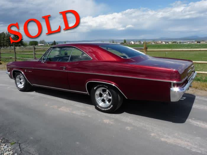 1966 Chevrolet Impala - Fully Restored <font color=red>*SOLD*</font color>