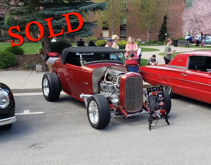 1932 Ford Roadster Steel With 427 FE Sideoiler <font color=red>*SOLD*</font color>