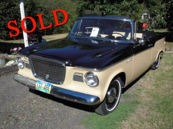 1960 Studebaker Lark Classic Convertible <font color=red>*SOLD*</font color>
