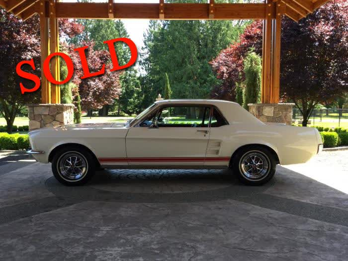 1967 Ford Mustang <font color=red>*SOLD*</font color>