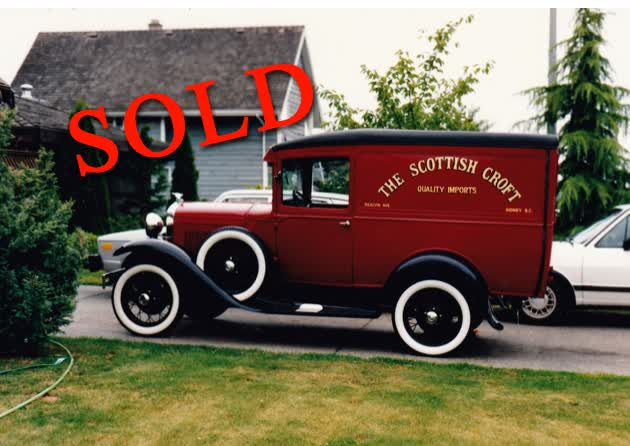 1931 Model A Ford Delivery Van Rare <font color=red>*SOLD*</font color>