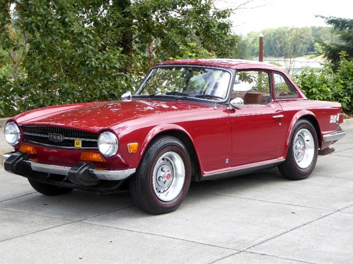 1974 Triumph TR6 Soft/Hard Top